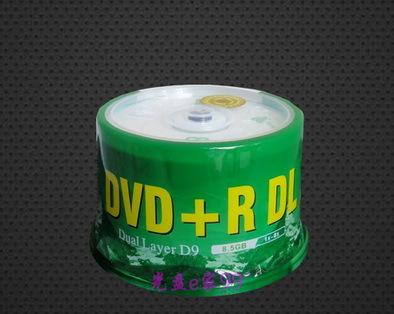 Retail Banana large-capacity optical disk DVD DVD + R DL 8.5G 8X D9 blank discs 5pcs/lot(China (Mainland))
