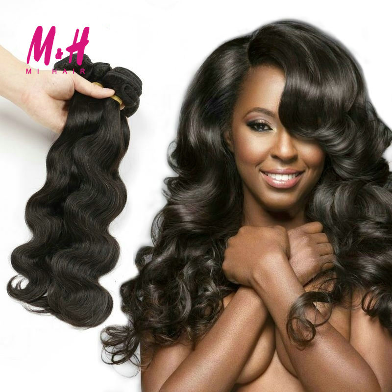 6A Unprocessed Raw Indian Hair 3pcs/lot Virgin Indian Body Wave Hair Unice Virgin Indian Hair 100g Bundles Real Wavy Human Hair