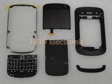 Full Complete Mobile Phone Housing Cover Case+USED LCD Screen & Digitizer For BB BlackBerry 9900 9930(China (Mainland))