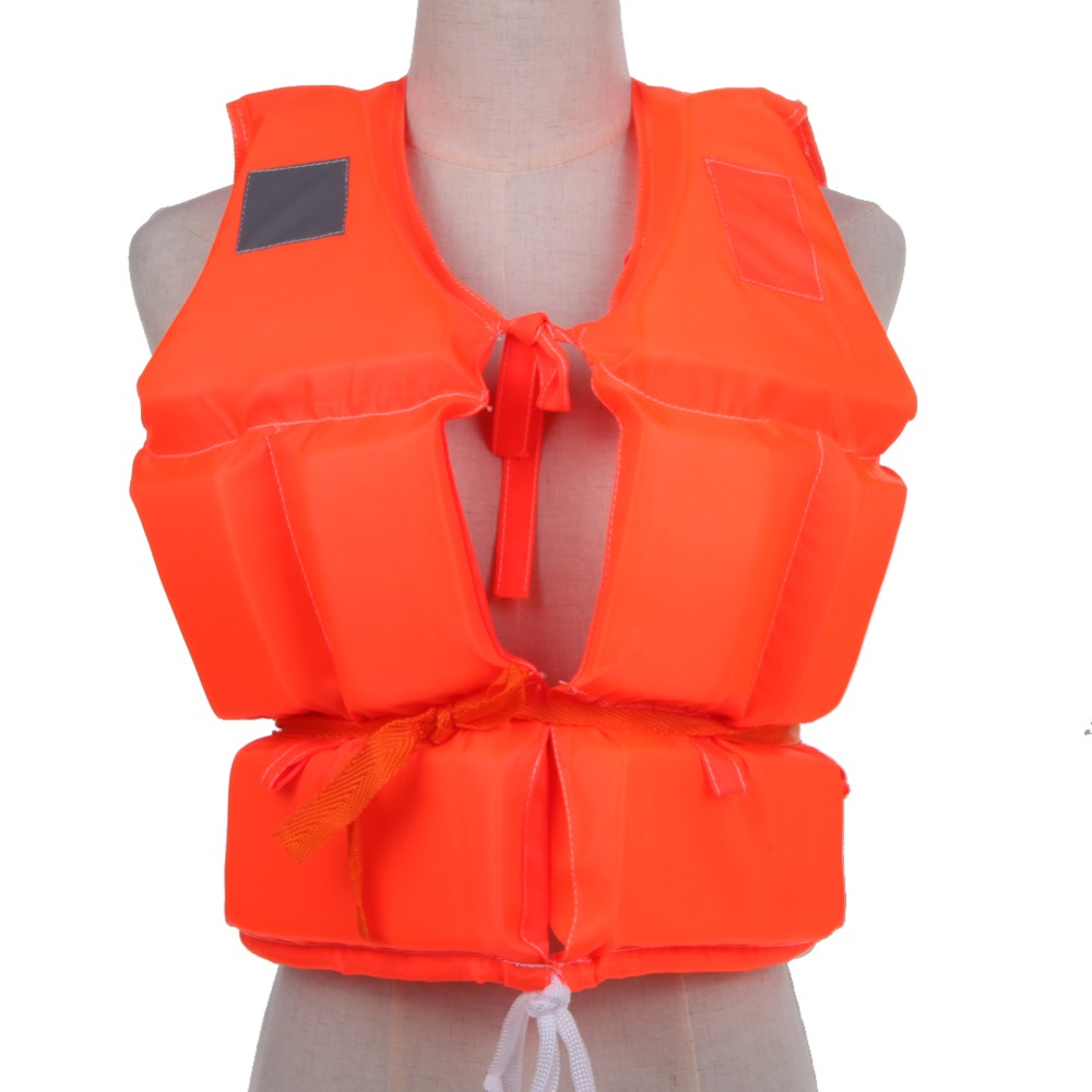 Kid To Adult Size Life Vest With Survival Whistle Water Sports Foam Life Jacket For Drifting Water-skiing Upstream Surfing(China (Mainland))
