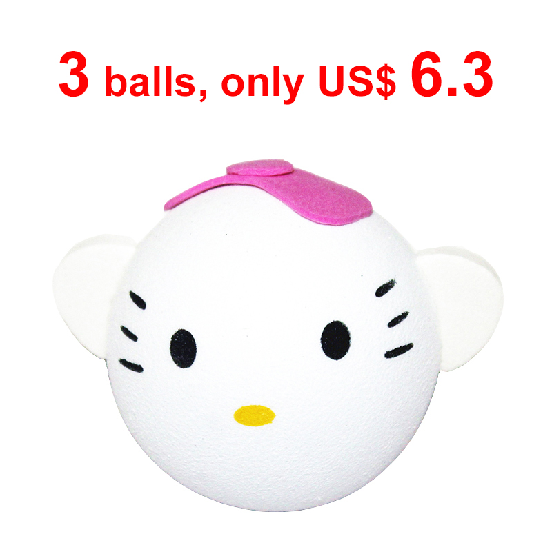KittyCat Antenna Toppers Car Roof Stickers Balls Automotive Decoration for cars Antena Bola Wholesale 2015 new arrival(China (Mainland))