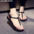 sandals women Roman sandals women flat sandals and slippers T clip slippers summer beach flip sandals