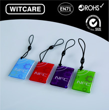 (4pcs/lot) Ntag 203 waterproof factory direct sale RFID Smart Tag for all the Enabled NFC Mobile Device
