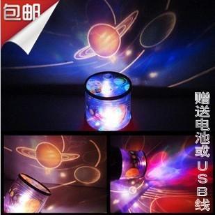 Kolkatan 's star light sleep lover led projection lamp small night light moon(China (Mainland))