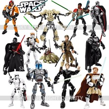 KSZ Star Wars Minifigures Phasma Darth Vader General Grievous Clone Cody Figure toy building blocks TOYS compatible with lego