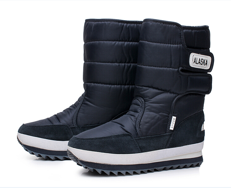 new 2015 Winter snow boots Men OutDoor boots,Warm Plush ...