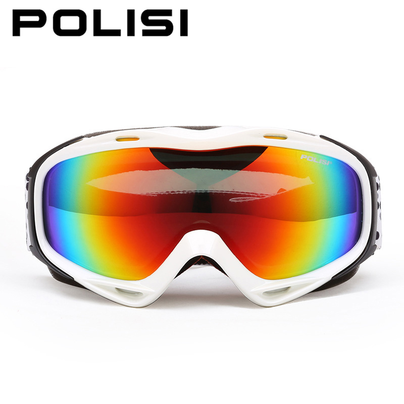 POLISI Unisex Outdoor Sports Ski Snow Glasses Polarized Skiing Snowboarding Goggles Snowmobile Gafas Motocross Off Road <br><br>Aliexpress