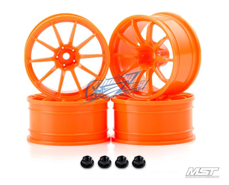 MST Orange RS II wheel (+9mm 4pcs) [102070O](China (Mainland))