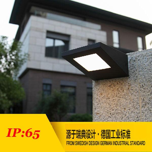 Здесь можно купить  (WECUS) Free shipping, new products, waterproof courtyard wall lamp, led outdoor lights, garden villas Street Light  Свет и освещение