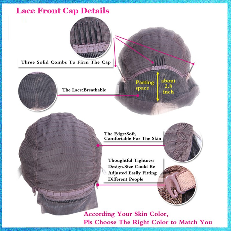 Full Lace Wigs Glueless Natural Black Full Lace Synthetic Wigs Top Quality 150% Density Body Wave Lace Wigs With Baby Hair