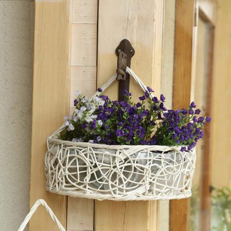 Online Get Cheap Artificial Hanging Flower Baskets