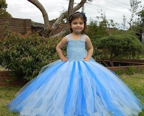 Скидки на 2-8 Т Детская одежда Твердые Платья для девочек Ручной Работы на заказ Сетки Марли Пачка Принцесса платье Выполнения Девушки костюмы