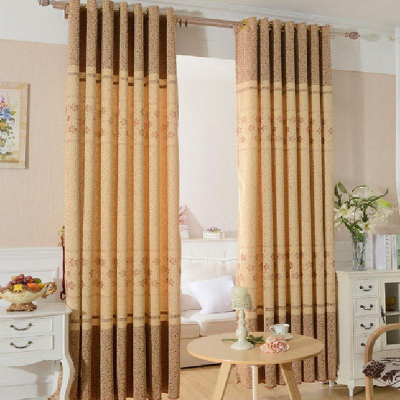 Rideaux pour chambre stores cortina panne tissu pour for Modele de rideau pour fenetre
