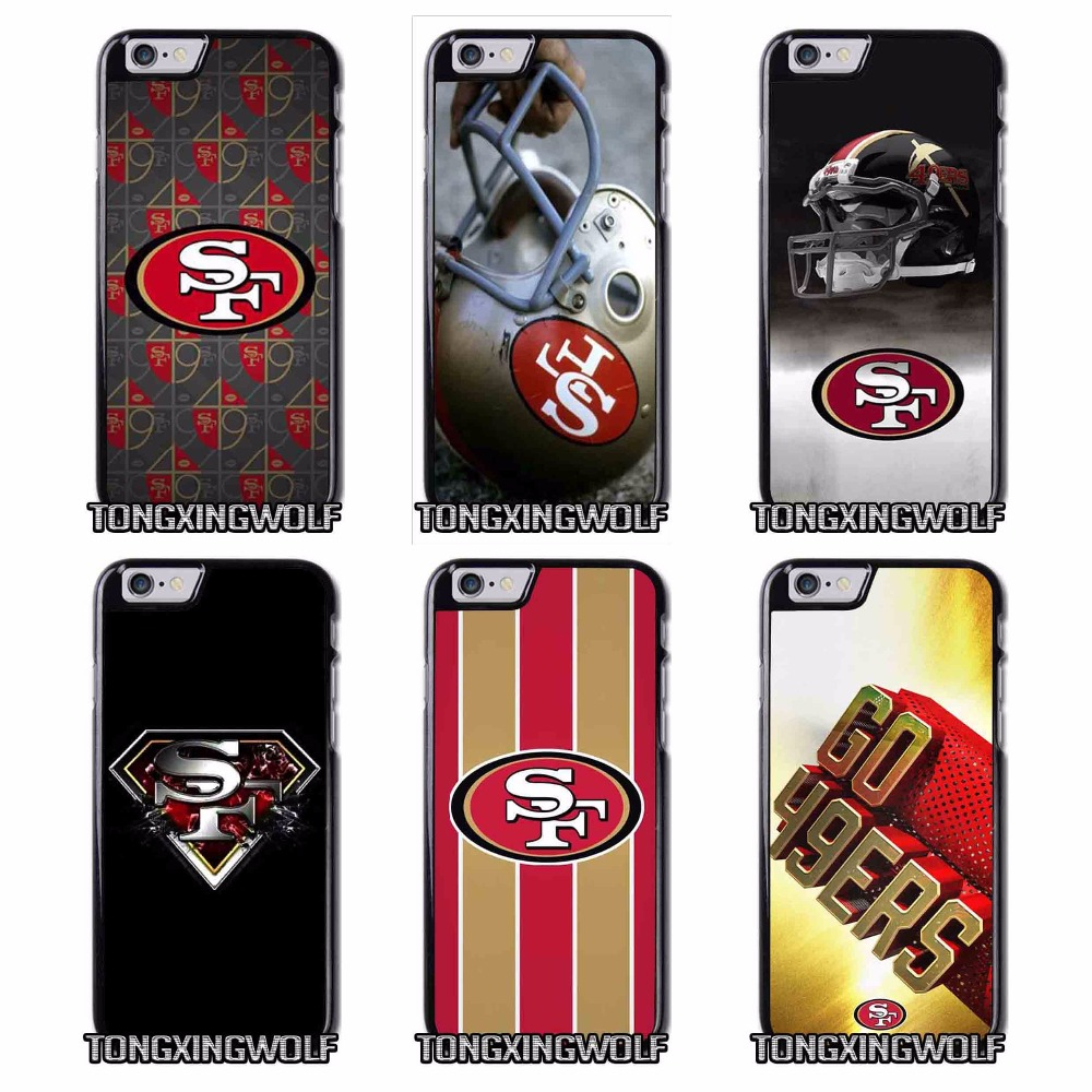 San Francisco 49ers Colin Kaepernick Cover Case for IPhone 4 4s 5c 5 5s se 6 6s 7 plus(China (Mainland))