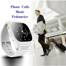 NEW Business bluetooth smartwatch M26 waterproof  clock data Sync Phone calls For Android Phone SMS camera remote Altitude Meter