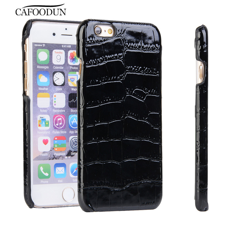 Ultra Slim Leather Case For iPhone 6 6S Plus Crocodile Skin Pattern Back Cover For Samsung S6 S7 J1/J3/J5/J7(2016) A3/5/7(2016)(China (Mainland))