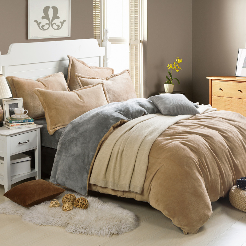 Bed linen set picture more detailed picture about winner for Bedroom ideas velvet bed