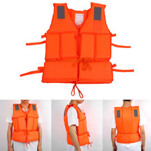 Outdoor Adult Aid Safety Jacket Foam W/Whistle Swimming Fishing Pond Vest(China (Mainland))