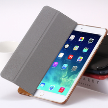 for iPad 2 3 4 Smart Case Luxury Deer Leather Cover for apple ipad2 ipad3 ipad4 Stand Folded Sleep Awake Tablets Bags Casual(China (Mainland))