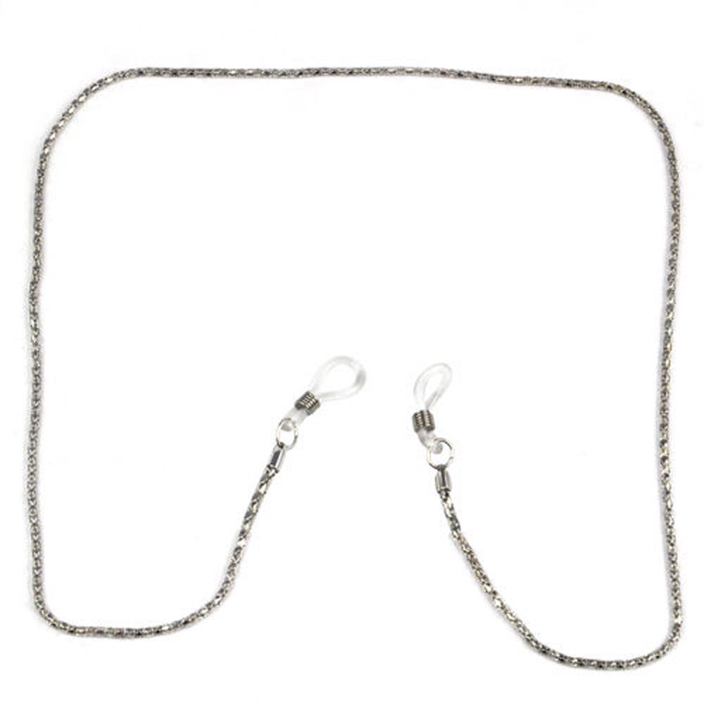 Гаджет  NEWBRAND Reading Glasses Spectacles Metal Chain 56cm long Neck Cord - silver None Изготовление под заказ