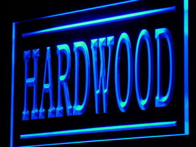 j206-b Hardwood Wood Supply Shop Lure LED Neon Light Sign Wholesale Dropshipping(China (Mainland))