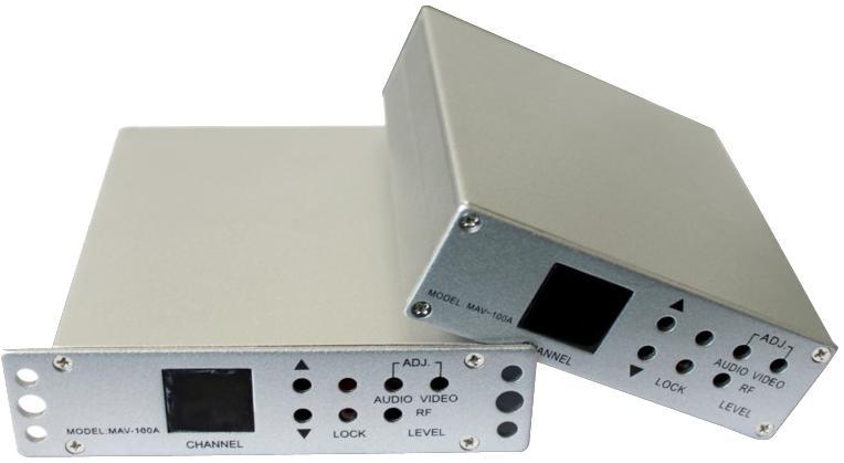 MAV -100A Mini Agile Channel Modulator CATV modulator(China (Mainland))