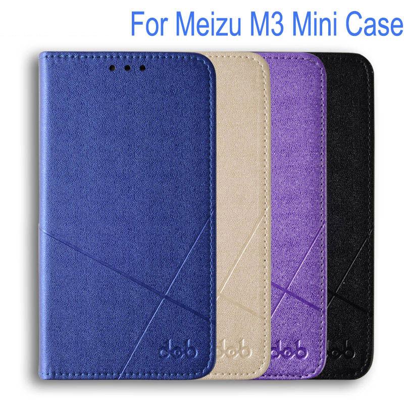 Fundas Meizu M3S Case Cover PU Leather Flip Case Meizu M3 Mini Cover M3S Mini Phone Case + Screen Protector