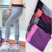 2016 Women Sport Leggings For Yuga Running Training Bodybuilding Fitness Clothing Gym Clothes For Women Pants Elastic Jegging(China (Mainland))