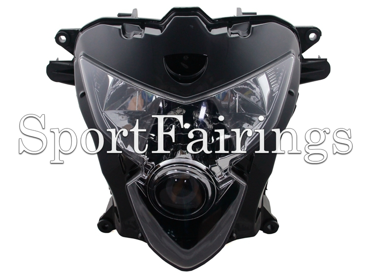 Headlight Assembly Fit Suzuki K4 K5 GSX-R600 GSXR 600 GSX-R750 GSXR 750 04 05 2004 2005 Sportbike Motorcycle Headlamp Clear Lens(China (Mainland))