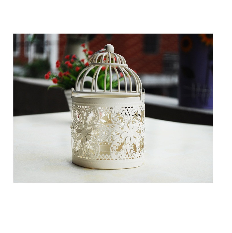 Round Metal Moroccan 13x9.3cm Votive Candle Holders Candlestick Hanging Lantern Home Centerpieces with Base(China (Mainland))