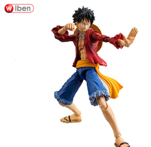 Buy One Piece Monkey D Luffy Figure PVC Action Figure 18CM Collectible Model Toy Figurine One Piece Doll for $13.88 in AliExpress store