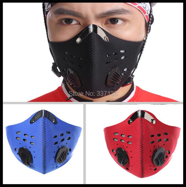2015 Fashion Anti Dust Cycling Face Masks Filter Half Face Neoprene Filter Bike Ski Motorcycle Anti Pollution Masks Sportswear(China (Mainland))