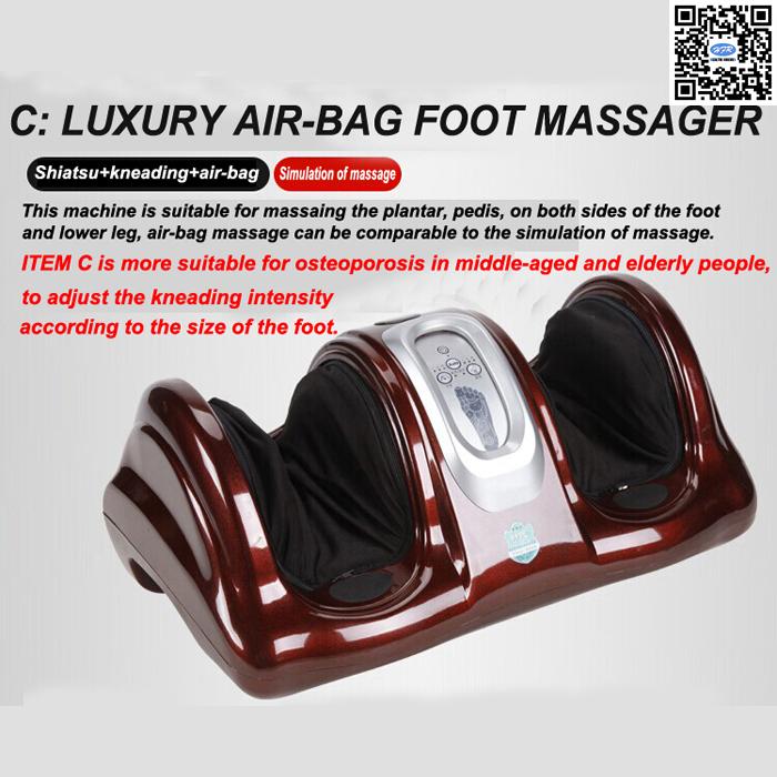 HFR-8802-3 HealthForever Brand Wireless Control Kneading Device Legs Instrument Electric Shiatsu Air Bag Foot Massager Machine(China (Mainland))