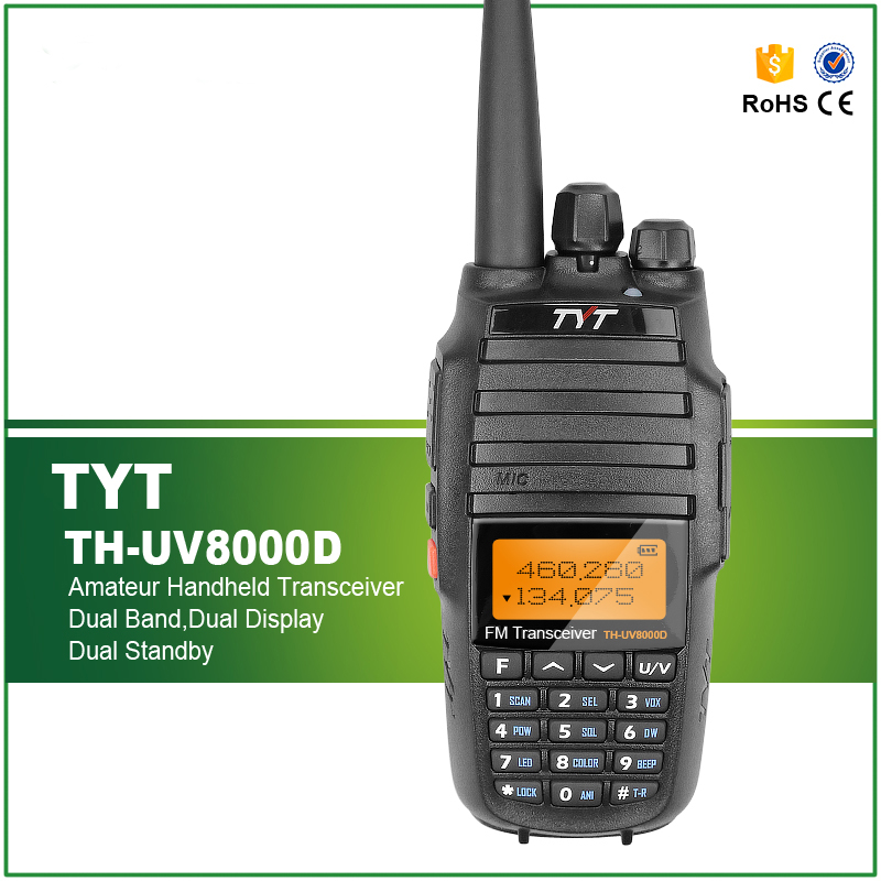 Brand New Original Cross Band Repeat Function TYT TH-UV8000D Dual Band 10W Radio(China (Mainland))