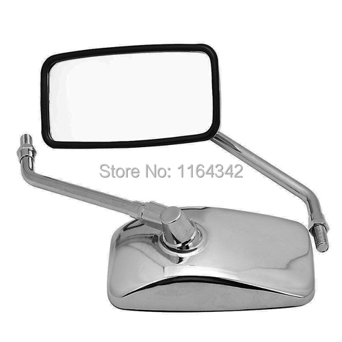Universal Side mirrors Rear Mirror For 10mm Honda Shadow Rebel 250 NIGHTHAWK VT VTX 1300 1800 CB 500 550 600 650 750 900 1000<br><br>Aliexpress