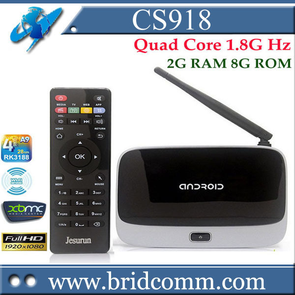 Q7 Android tv box Quad Core CS918 T-R42 K-R42 MK888 MK888B MK918 Android 4.2 RK3188 Cortex-A9 TV BOX HDMI Player 2G/8G Antenna(China (Mainland))