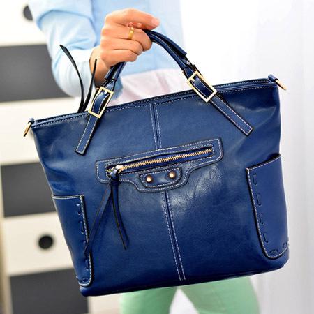 2015 new wave of female bag Europe and America belt buckle bag ladies handbag shoulder female bag women messenger bags(China (Mainland))