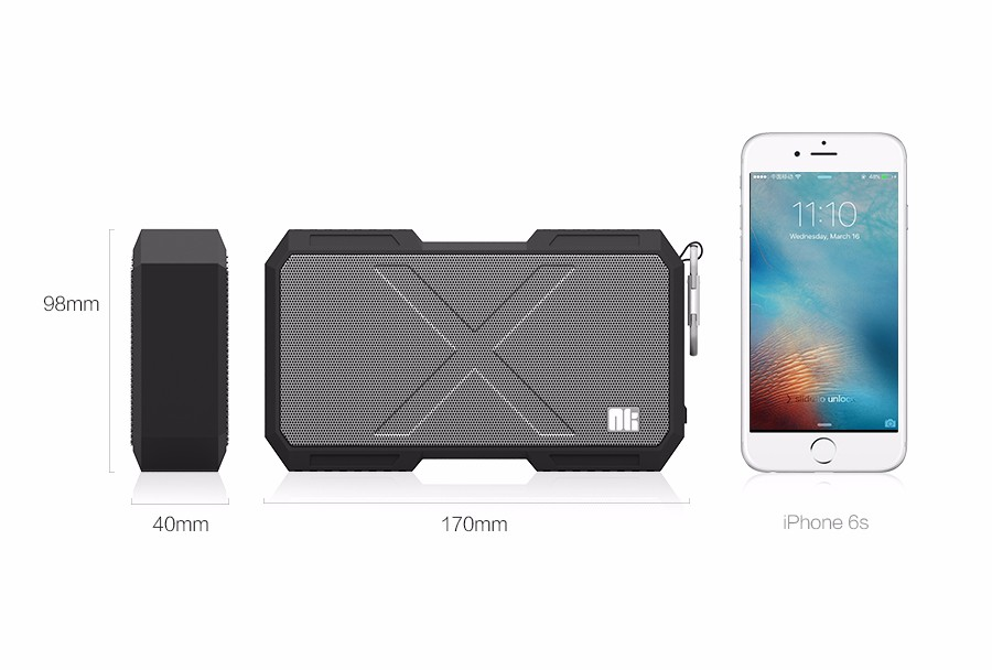 Nillkin X-man Bluetooth speaker phone charger Music surround wireless speaker wire for xiaomi for samsung for iPhone oneplus zuk