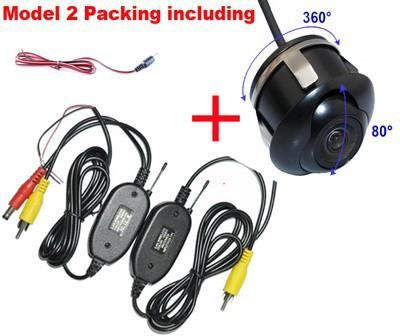 New Parking hd ccd GPS DVD Car Wireless Rear View Camera 360 Degree For land rover Ford Chevrolet Mitsubishi outlander Mazda(China (Mainland))