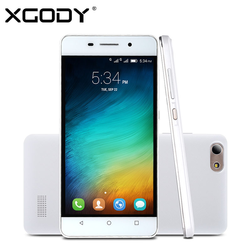 """XGODY X500 5"""" Android 4.4.2 3G/2G Smartphone Unlocked MTK6572 Dual Core Cell Phone Dual Card Dual Standby 2MP/5MP Mobile Phone(China (Mainland))"""
