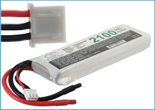 Discount Airplane, Helicopter, Racing Car, Scale Boat Battery 7.4V 2100mAh For RC Toys CS-LP2102C30RN