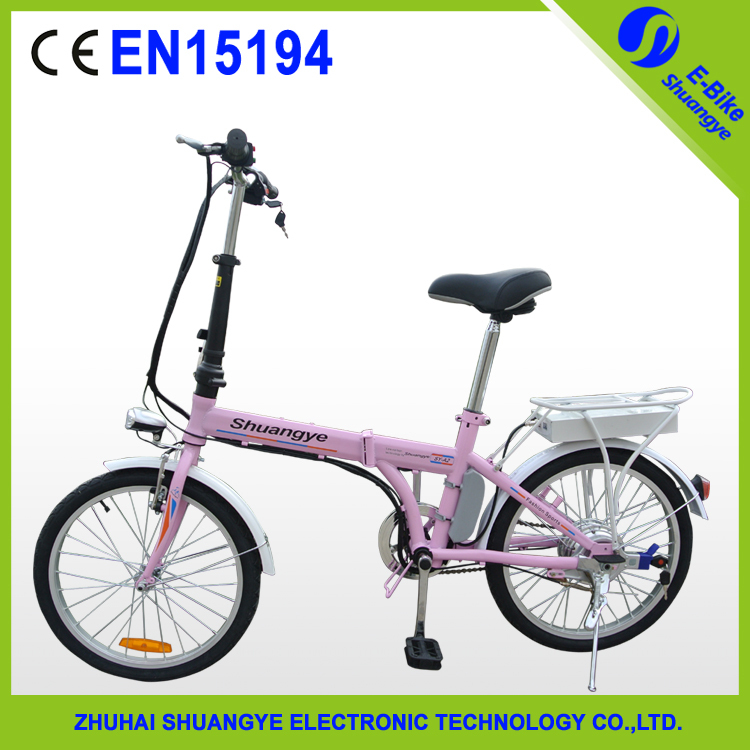 20 36v 10ah folding e bike EN15194 electric bicycle