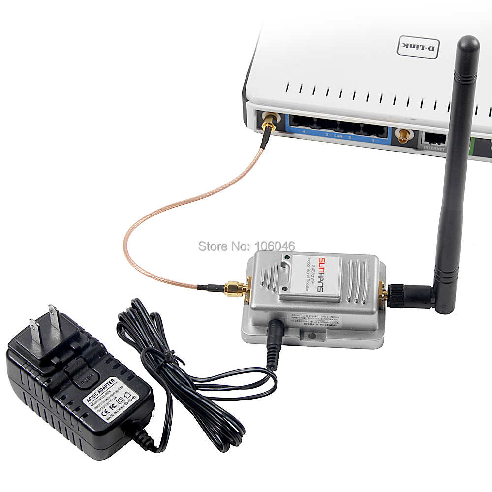 2w wireless wifi web signal booster sh