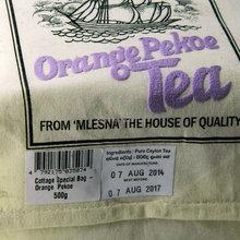 Pro Hot Pure organic Ceylon tea Mlesna OP grade black tea 500g 17 63oz