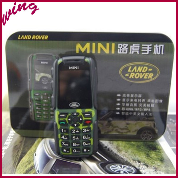 Small Mini Rugged Waterproof Mobile Phone A8N Quad Band Dual SIM Bluetooth Camera Russian Phone Free Shipping(China (Mainland))