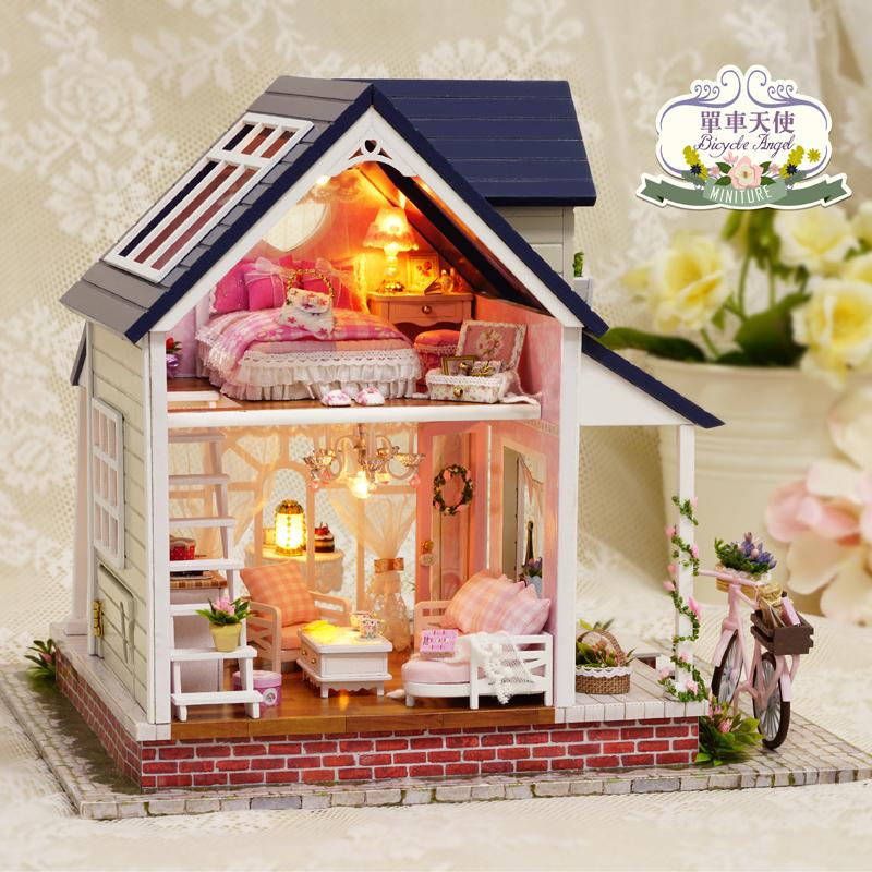 Popular big dollhouse buy cheap big dollhouse lots from for Big cute houses