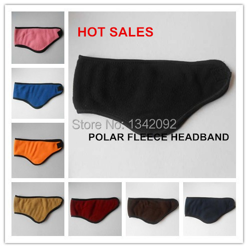 [해외]Polar Fleece Headband Winter Warm Ear Warmer Wrap ..