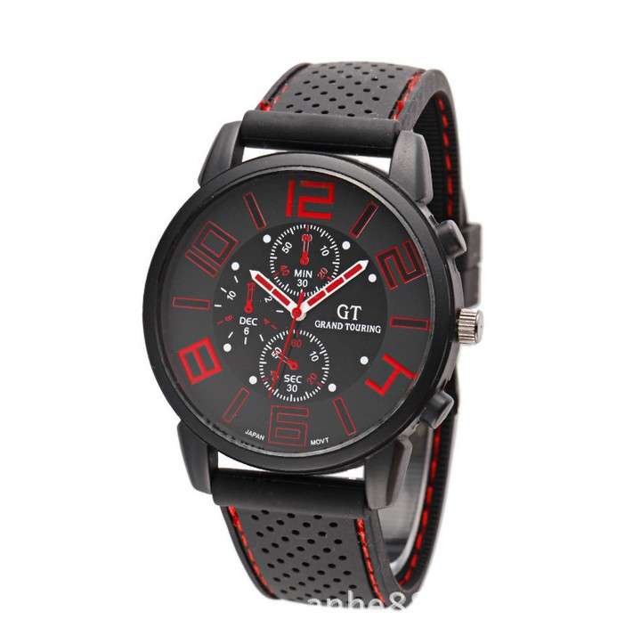 2014 V6 Fashion Sports Crazy Sales 5 CM Big Face Watch Men Drop Shipping - Jewelry watches store