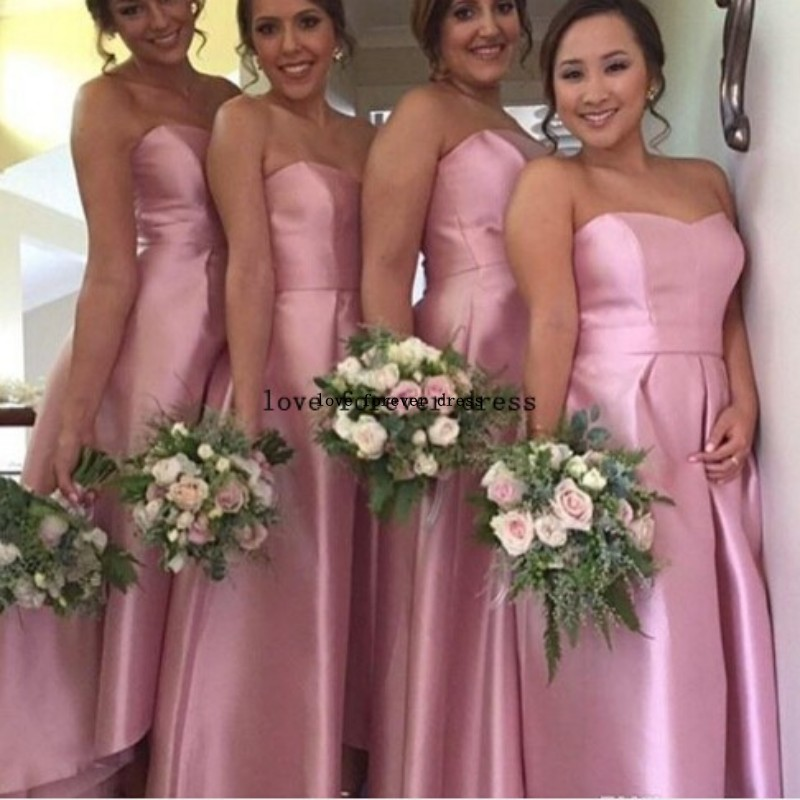 Strapless long bridesmaid dresses under 100 discount for Second hand wedding dresses denver