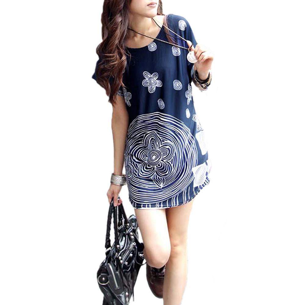 Korean Style Women Loose Tops Fashion Tunic t-shirt Top Quality Summer Batwing Sleeve Loose Clothing High Street t shirt(China (Mainland))